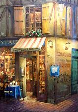 "Viktor Shvaiko ""Lights From The Window"" Hand Signed unframed canvas Make Offer"