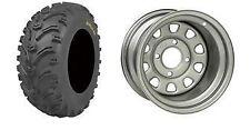 (2) Tire Wheel Rim Kit Rear Suzuki King Quad  750 4X4 25X10-12 ATV 6 PLY NEW