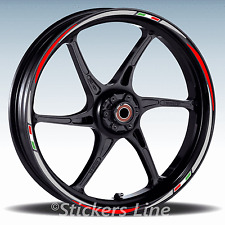 Adesivi ruote moto strisce cerchi per Aprilia MANA mod. Racing 3 stickers wheel