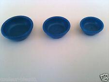 PLAYMOBIL Western  -  Trois assiettes bleues pour le repas des indiens