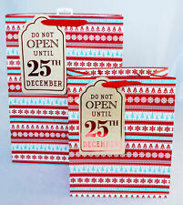 Christmas Gift Bag Large + XL Multipack Foil Snowflake Present Wrapping Xmas 2PK