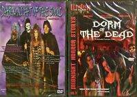 DVD- Brand New   Horror Halloween Set of 2 DVD's SEALED from Factory