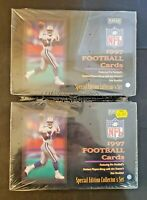 1997 Playoff NFL Football Cards Special Edition Set - Lot of 2 Sealed Boxes!