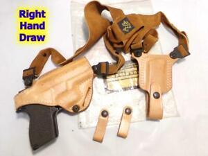 #82 DeSANTIS Triple Agent Shoulder/Hip Holster for S&W 469 669 6904 6906 3914 &