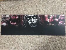 """House Of The Dead 2 Arcade Marquee Translite Topper 45"""" X 15"""""""