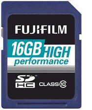 Fuji SDHC, tarjeta 16gb class 10 mercancía nueva 16 GB SDHC
