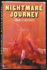 Koontz, Dean R.  Nightmare Journey.  First Edition.