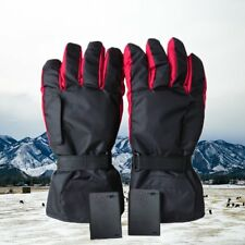 Outdoor Motorcycle Electric Battery Heated Gloves Warmer Hands Scooter Winter HT