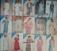 Butterick  Vintage Sewing Patterns 80's Dresses Skirts -U Pick! Lot #1B