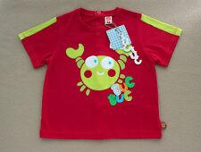 Camiseta de niño manga corta Cangrejo de TUC TUC (varias tallas)