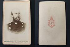 Grossherzog von Mecklenburg-Schwerin Vintage albumen print CDV.Frédéric-Franço
