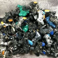 Lot of 58 Official Sony Playstation 2 PS2 Controllers for Parts or Repair