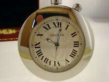 Schöner Wecker Tischuhr Cartier 2751 / 505330GD Pendulette Clock Sveglia Box