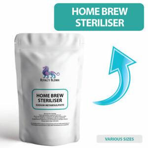 Home Brew Steriliser - Sodium Metabisulphite Safe Sterilising Equipment Cleaner