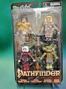 Pathfinder Minimates Box Set (4 figures - Goblin, Human, Elf, Dwarf)