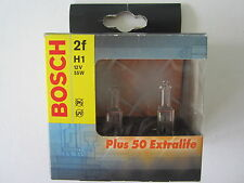 Bosch Extralife H1 Plus 50  12V/55W Doppelpack 1987301071  Autolampe