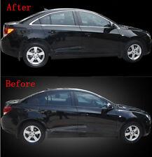 Stainless Full Set Window Sill Trim 14pcs For Chevrolet Cruze Sedan 2009-2014