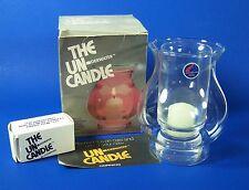 Corning Un-derwater Candle Set #152 Nautilus Pryex Glass Orignal Box 1978