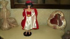 BARBIE SILKEN FLAME BRUNETTE 1962 VINTAGE REPRODUCTION REPRO 1997*COMPLETE*STAND