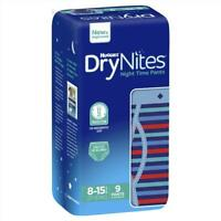 Huggies DryNites Boy 8+ Years 9 Pack Snug Fit Leak Lock System Super Absorbent