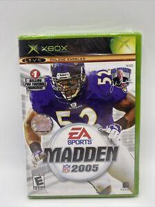 Madden NFL 2005 (Microsoft Xbox, 2004) Brand New Sealed