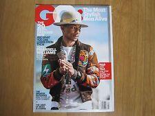 GQ Magazine U.S.A 2015 Pharrell Williams,Jazz Z,Brad Pitt,New.