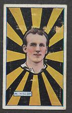 J J SCHUH TOBACCO 1921 RICHMOND AFL CIGARETTE CARD #17 M.HISLOP