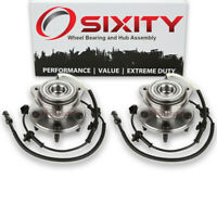 Pair (2) Front Wheel Bearing Hub Assembly for Mercury Mountaineer 1997 - rl
