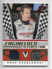 BRAD KESELOWSKI 2018 VICTORY LANE ENGINEERED TO PERFECTION MATERIAL GOLD 078/199
