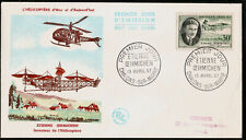Étienne Oehmichen Aviation Pioneer & Helicopter Designer First Day Cover 1957