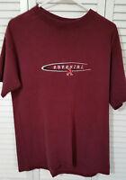 Arkansas Maroon Tee Shirt by TSI Size: Large