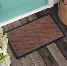 Doormat Non-Slip Indoor/Outdoor Durable Rubber Mat for Entrance/front/patio