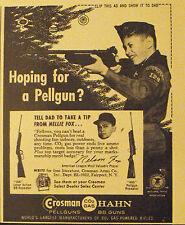 1960 Nellie Fox~White Sox Baseball Crosman Hahn Rifle-Pistols Gun Cub Scout AD