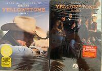 Yellowstone Seasons 1 & 2 (DVD, 2019) BRAND NEW & SEALED FREE SHIPPING