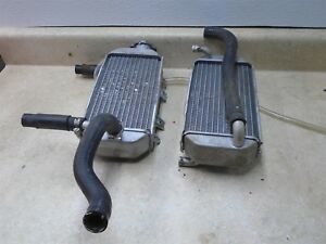Honda 150 CRF CRF150R CRF150-R Used Genuine Right Left Radiator Set 2008 HB317