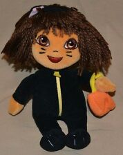 "8"" Dora The Explorer Plush Dolls Toys Stuffed Animals TY Halloween Cat Kitty"