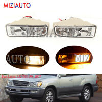 Fog Light For Lexus LX470 1998-2006 2007 Front Bumper Cover Lamp Blub Left Right