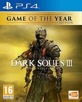 Dark Souls III 3 The Fire Fades Edition GOTY | PlayStation 4 PS4 New