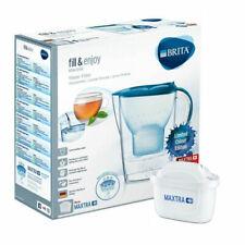 Brita Marella Maxtra+ Water Filter Fridge Jug with 1 Cartridge 2.4L Basic Blue