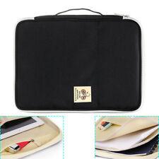 A4 Paper Expanding File Folder Pockets Document Organizer Envelope Holder Bags