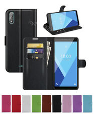 NEW Leather slot wallet stand flip Cover Skin Case For Wiko Sunny 5 lite/Y51