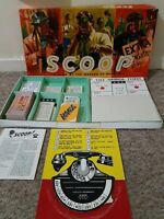 Vintage Scoop Board Game Complete Waddingtons The Newspaper Game