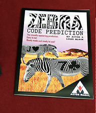 Zebra Code Prediction by Astor and Louis Black from Murphy's Magic