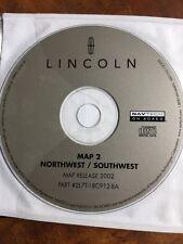 FORD LINCOLN OEM NAVIGATION DISC CD 2L7T-18C912-BA AZ CO ID OR MT NW WA WY UT 2