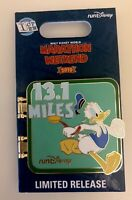 Pin Run Disney World 1/2 Half Marathon Donald Duck LR 2019 I Did It 13.1