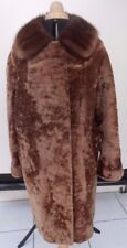 Pelzmantel Herren Halbmantel 60er Fell Mantel True Vintage 60s Winter Fur Coat Heller Glanz Vintage-mode