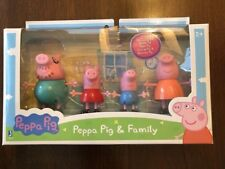 New Peppa Pig Peppa and Family 4-Pack Figures Toy