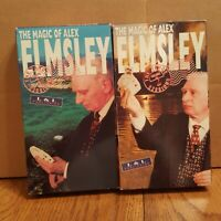 The Magic of Alex Elmsley; The Tahoe Sessions Volume 2 & 3 VHS Video Tape