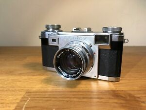 Zeiss Contax IIa Messsucher/Rangefinder Kamera mit Opton Sonnar 1:2 50mm