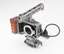 TILTA ES-T13 for Blackmagic BMPCC DSLR Video cage /Wood Handle Grip /Baseplate